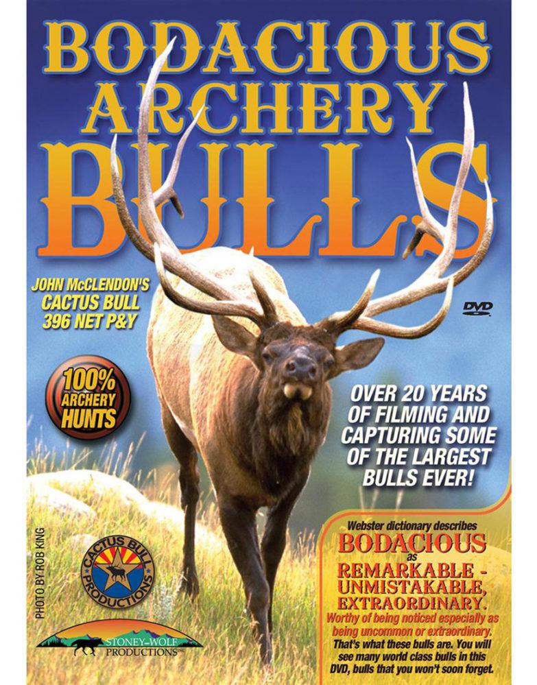 Bodacious Archery Bulls DVD